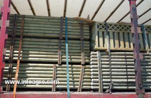Se vende postes de madera baratos madrid - Postes de madera tratada ...