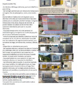 Se vende caseta hormign para riego abonadora energa for Vendo caseta resina