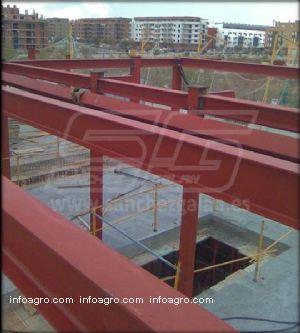 estructuras metalicas para casas talleres sanchez galan