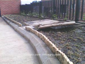 Instalacin de bordes para el jardn de clean garden - Bordes para jardines ...
