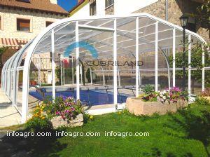 Cupulas para piscinas altas de cubriland directorio empresas agricultura - Piscinas altas ...
