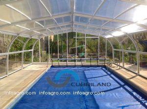 Cupulas para piscinas altas de cubriland directorio for Climatizar piscina