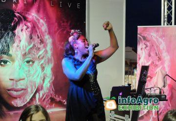 concierto en directo-carlene graham  Feria Infoagro Exhibition