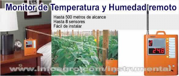 Monitor de humedad y temperatura remoto watchdog tienda - Humedad relativa espana ...