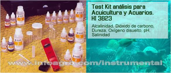 Acuicultura test kit de an lisis para cr a de peces hi for Peces para criadero