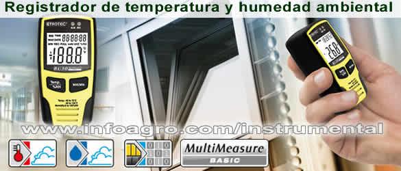 Medidor y registrador de temperatura y humedad usb trotec - Humedad relativa espana ...