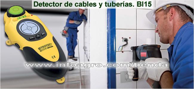 Detector de cables tuber as y maderas econ mico en paredes y suelos trotec bi15 tienda on line - Detector de humedad para suelos y paredes ...