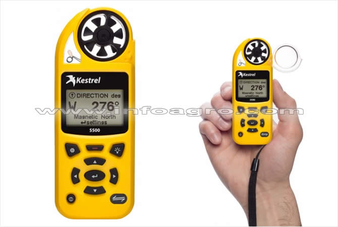 Micro estaci n meteorol gica kestrel 5500 tienda on line - Estacion meteorologica precio ...