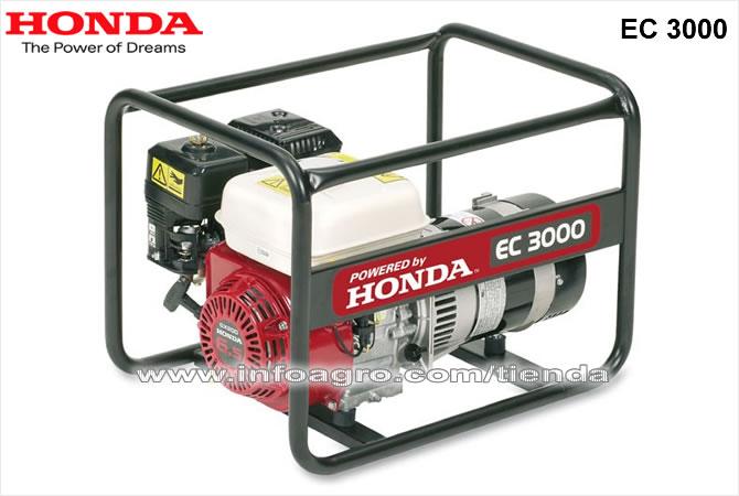 Generador el ctrico econ mico monof sico honda ec 3000 - Generadores de corriente ...