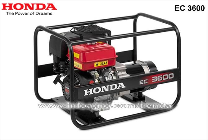 Generador el ctrico econ mico monof sico honda ec 3600 - Generador electrico precios ...