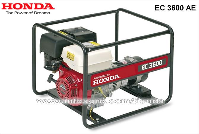 Generador el ctrico econ mico monof sico honda ec 3600 ae - Precio de generadores ...