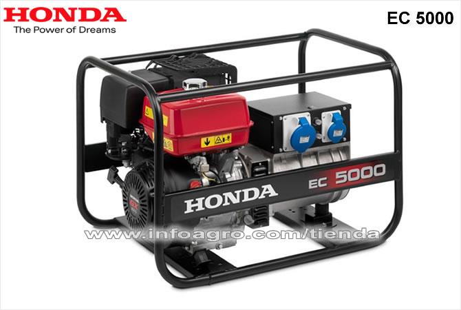 Generador el ctrico econ mico monof sico honda ec 5000 for Generador electrico honda precio