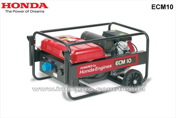 Generador el ctrico econ mico monof sico honda ecm 10 for Generador electrico honda precio