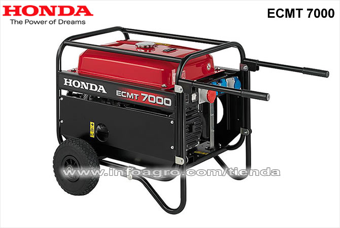Generador el ctrico econ mico trif sico honda ecmt 7000 for Generador electrico honda precio