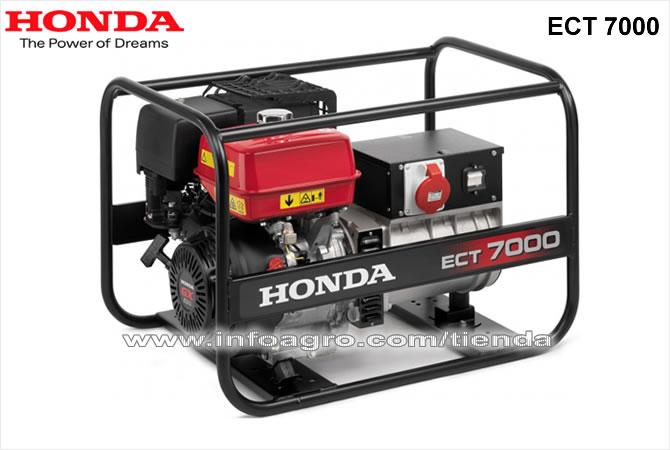 Generador el ctrico econ mico trif sico honda ect 7000 for Generador electrico honda precio