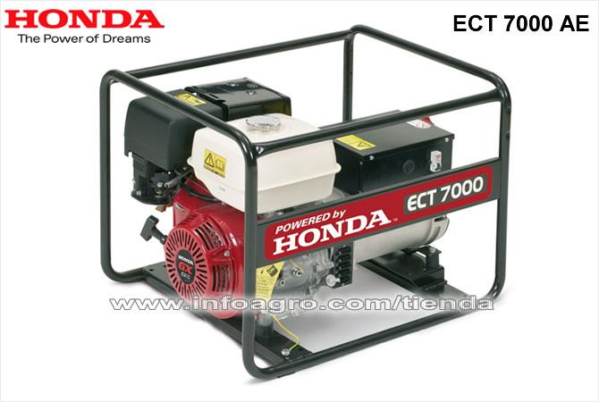 Generador el ctrico econ mico trif sico honda ect 7000 ae - Generador electrico precios ...