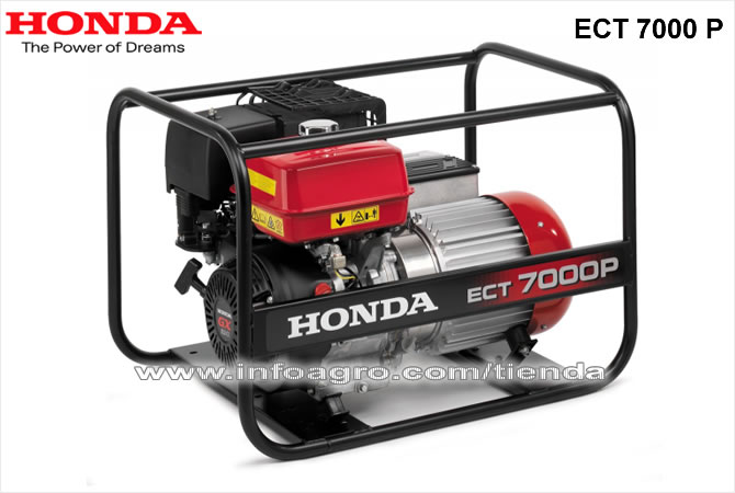 Generador el ctrico econ mico trif sico honda ect 7000 p - Generador electrico precios ...