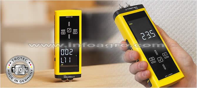 Medidor de humedad y materiales de construcci n suelos y paredes trotec t510 tienda on line - Detector de humedad para suelos y paredes ...