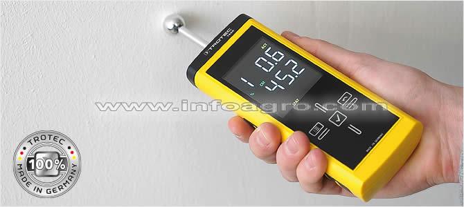 medidor de humedad en materiales suelos y paredes hasta 4