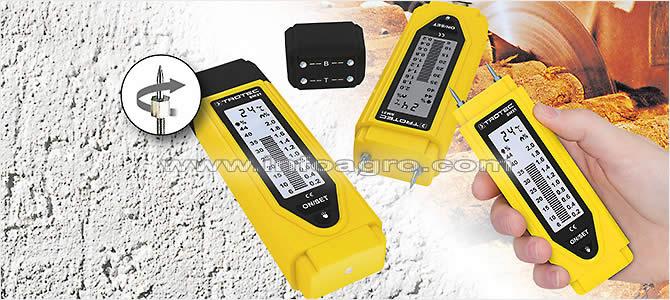 Medidor de humedad para madera suelos y paredes trotec bm21 tienda on line - Detector de humedad para suelos y paredes ...