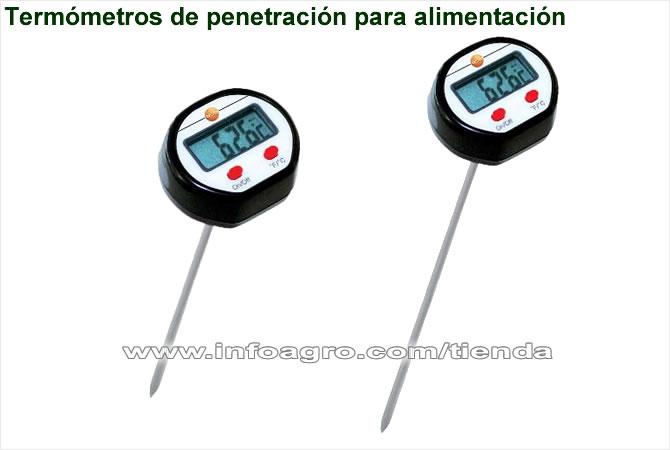 Term metro de pincho testo ts 0560 alimentos piscinas for Termometros para piscinas