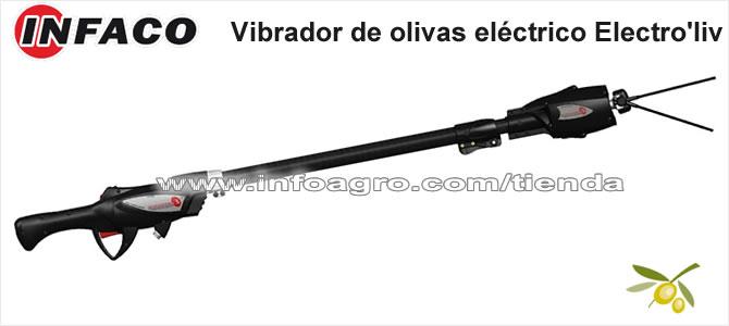 Vibrador de olivas el ctrico vareador de aceituna infaco - Vareador de aceitunas ...